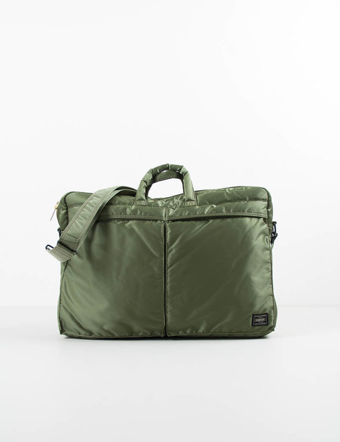 Khaki Green Tanker Brief Case
