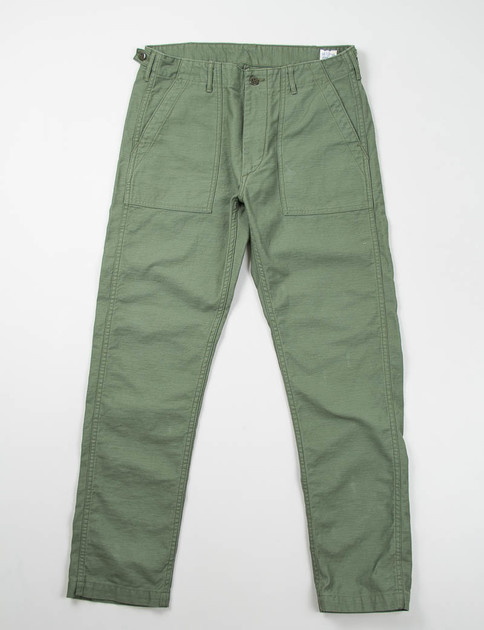 Slim Fit Green US Army Fatigue Pant