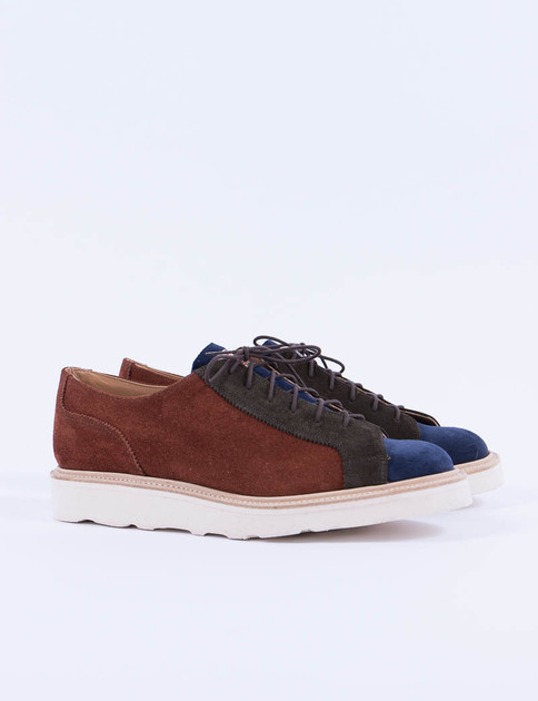 Highland Fox Suede Multi Tone Monkey Shoe