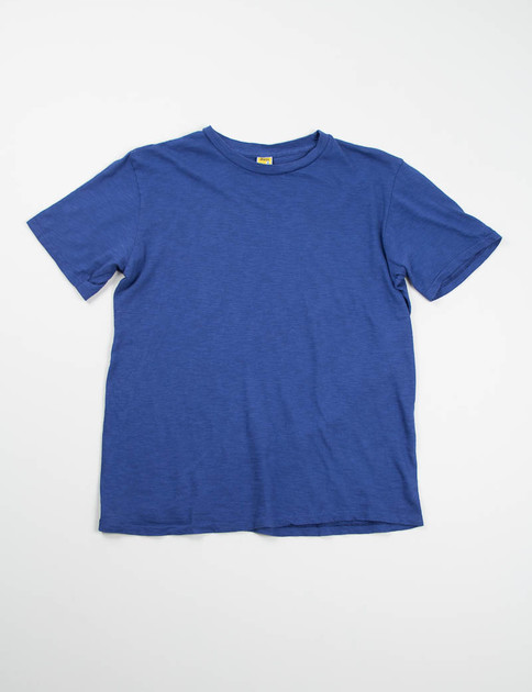 Blue Rolled Regular Tee