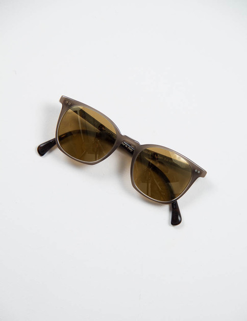 Taupe/Oak L.A. Coen Sunglasses