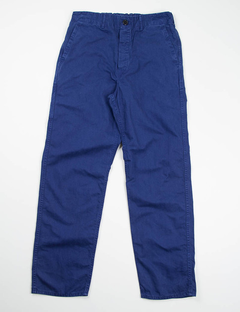Ink Blue French Work Pant