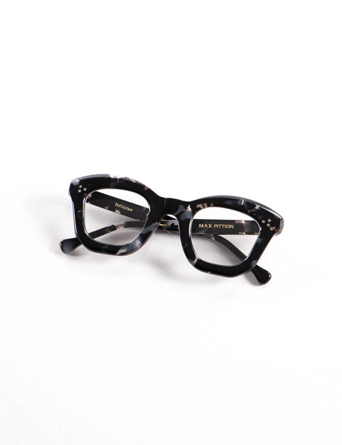 Black Tortoise Politician 46 Optical Frame