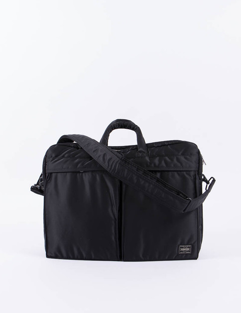 Black Tanker 2Way Brief Case