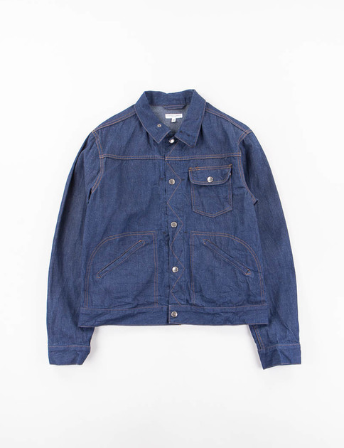 Indigo 11oz Cone Denim Type 111 Jean Jacket