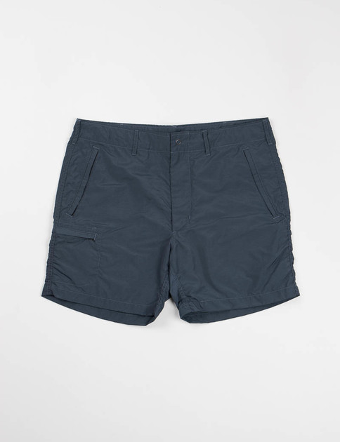 Navy 2ply Nylon Taslan Knockabout Short