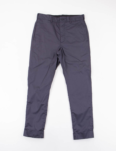 Dark Navy High Count Twill Cinch Pant