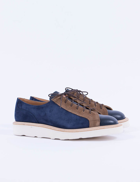 Midnight Suede Multi Tone Monkey Shoe