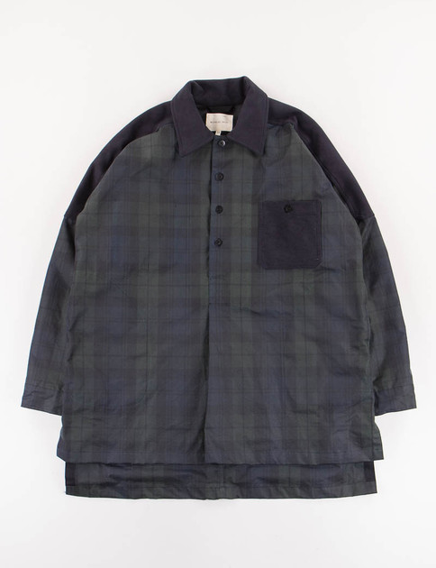 Blackwatch Waxed Cotton/Moleskin Smock Shirt SPECIAL