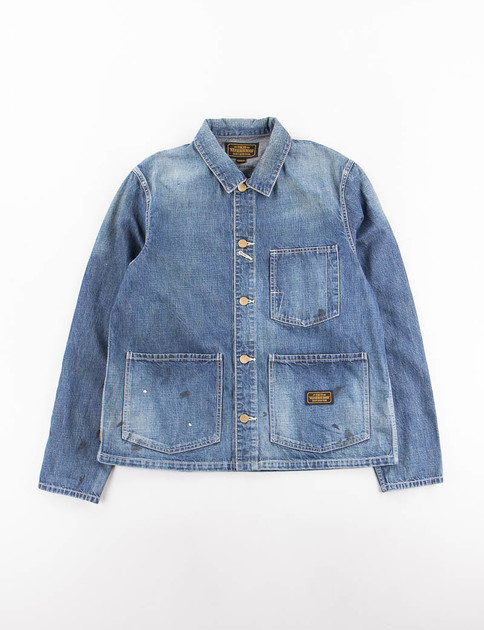 Indigo Washed Hustlas C–Jacket