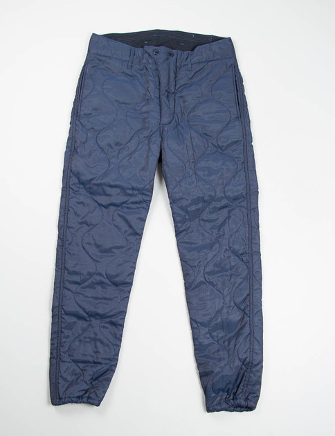 Navy Hourglass Quilted Twill Lining E–1 Over Pant