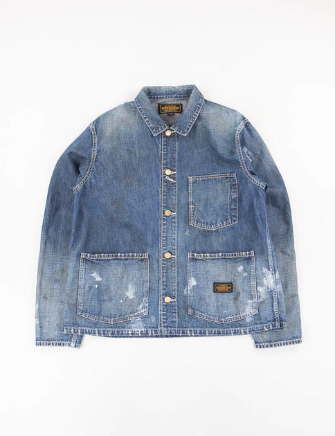 Indigo Washed Hustlas C–Jacket SS17