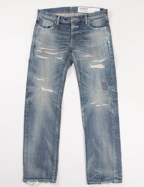 Indigo Knockdown Savage Narow Jean