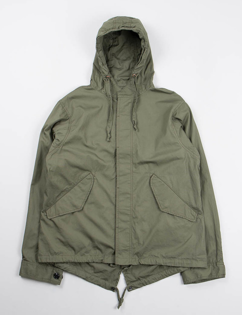 Olive Vancloth Short Fishtail Jacket