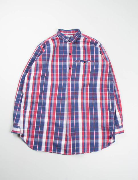 Red Check Farmers Long Shirt