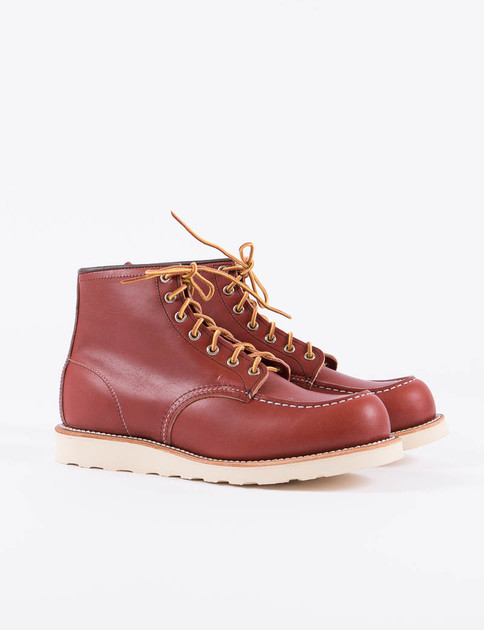 "Oro Russet Portage 8131 Heritage 6"" Moc Toe Boot"