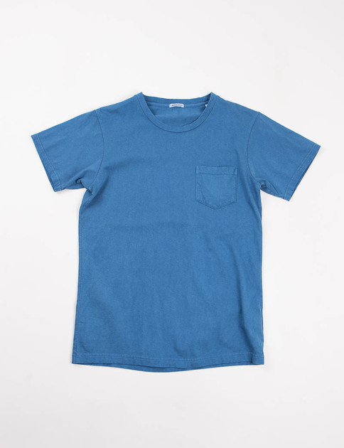Light Indigo Crew Neck SS Tee