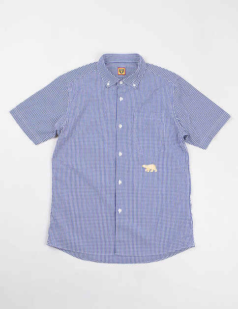Blue Gingham Check SS Shirt