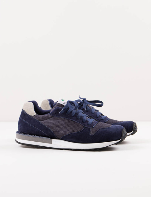 Navy/Grey Suede Speed Shoe