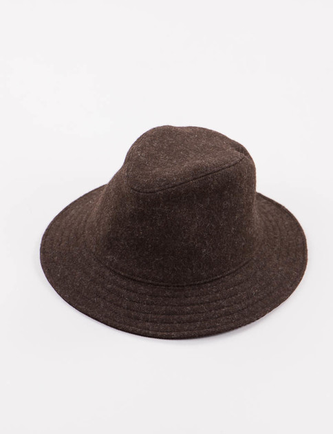 Arpin Dark Brown Mountain Hat