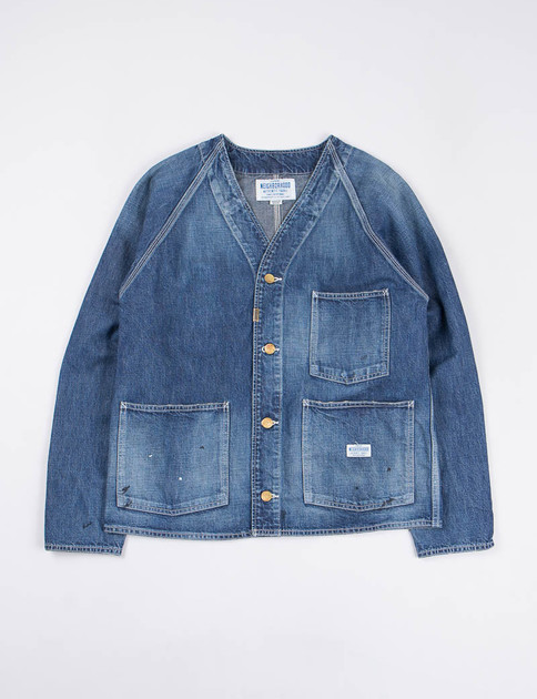 Indigo Washed Denim Governor Jacket
