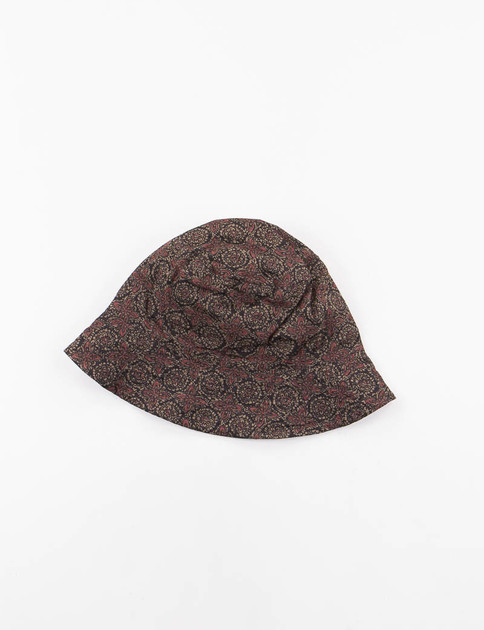 Olive Floral Java Cloth Bucket Hat