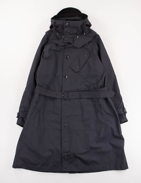 Black Nyco Ripstop Riding Coat