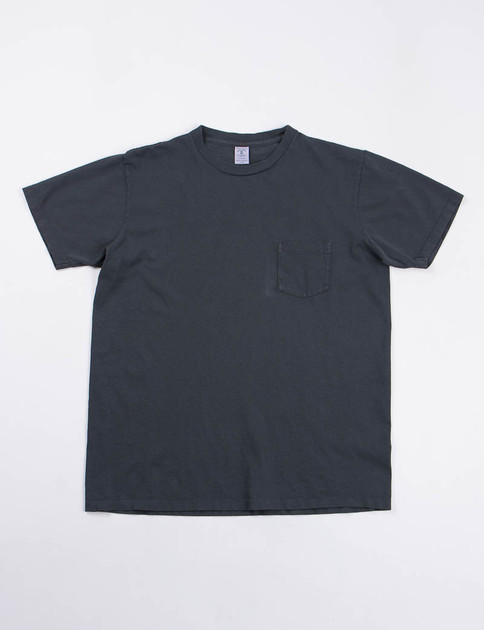 Black Pigment Dye Pocket Tee