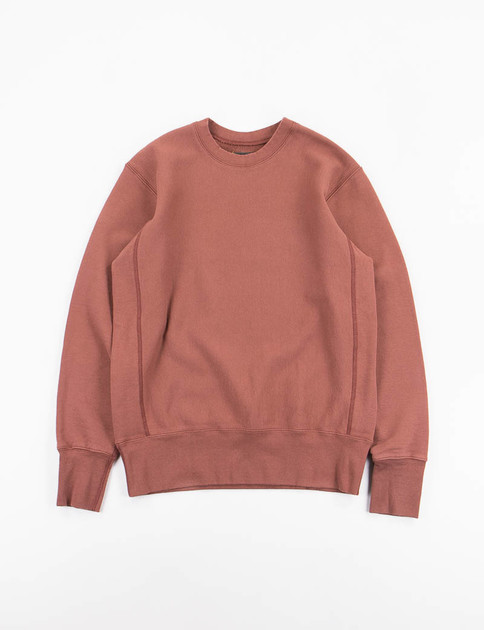 Oxblood Gusset Crew Trainer Sweat
