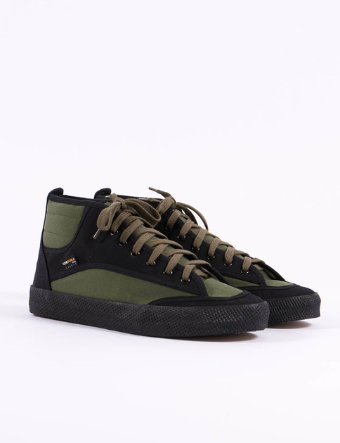 Olive/Black 80's French Military Trainer