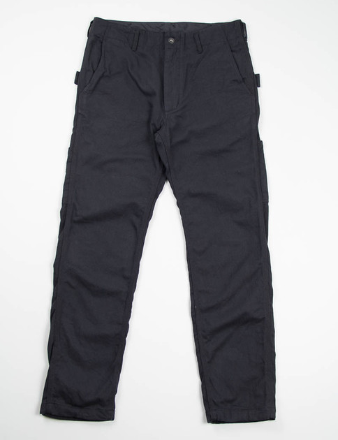 Black 10oz Bull Denim Painter Pant