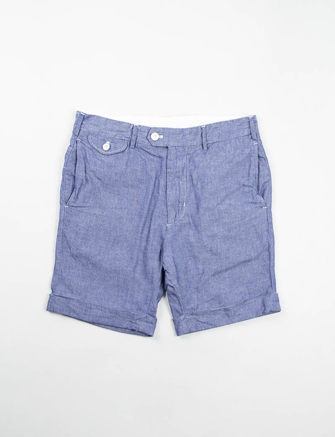Indigo Cotton Dunagree Cloth Cambridge Short