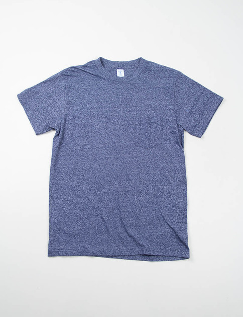 Heather Navy 1–Pac Pocket Tee