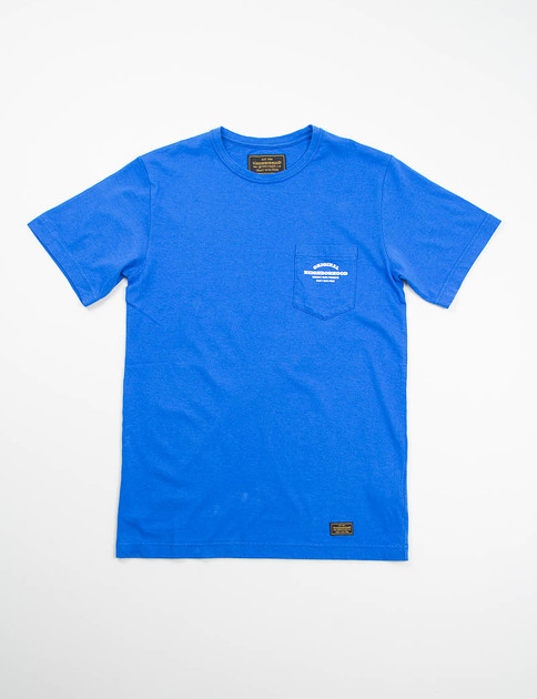 Blue Classic Pocket T–Shirt