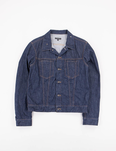 Indigo 12oz Cone Denim Type 5 Jean Jacket