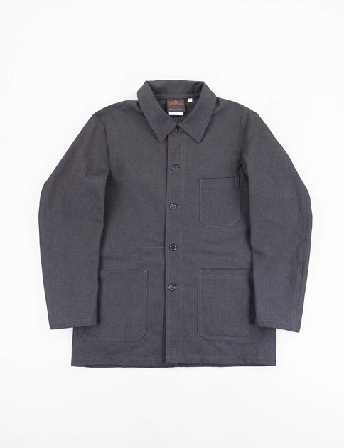 Charcoal Cotton/Poly No.4 Workwear Jacket