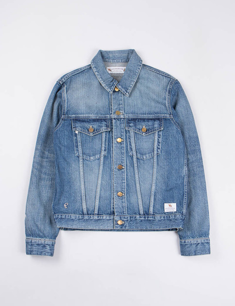 Indigo Savage Stockman Jacket
