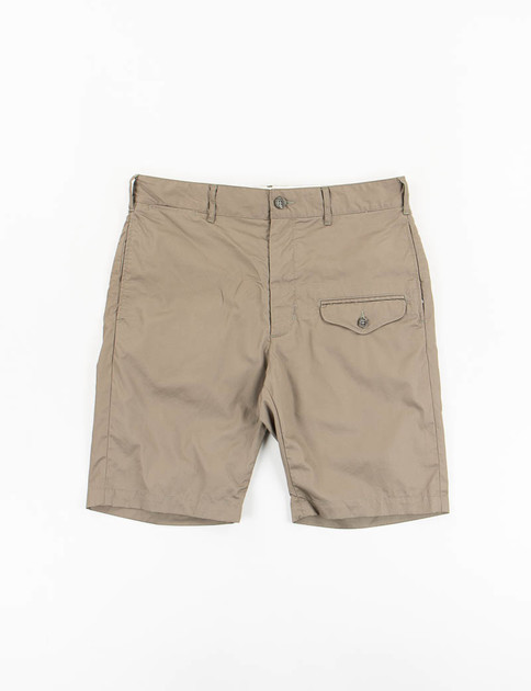 Olive High Count Twill Ghurka Short