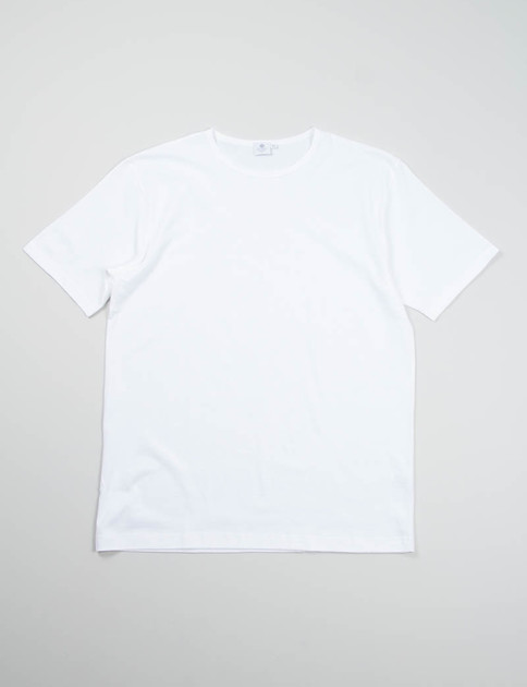 White Crew Neck T–Shirt