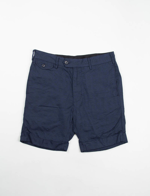 Dark Navy Java Cloth Cambridge Short
