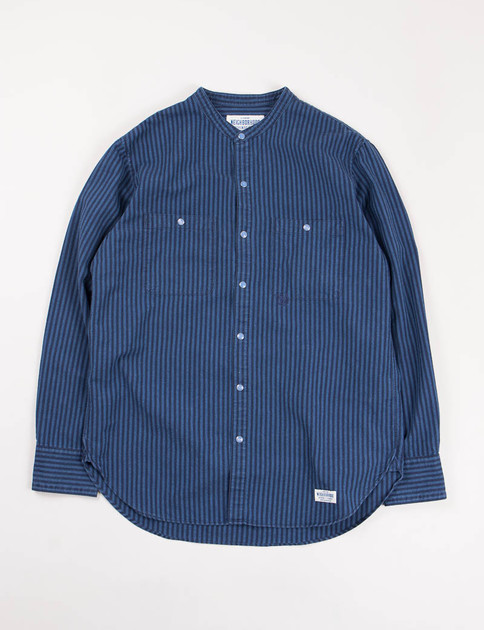 Navy Ox Stripe Shirt