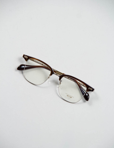 Espresso/Antique Gold Executive I Optical Frame