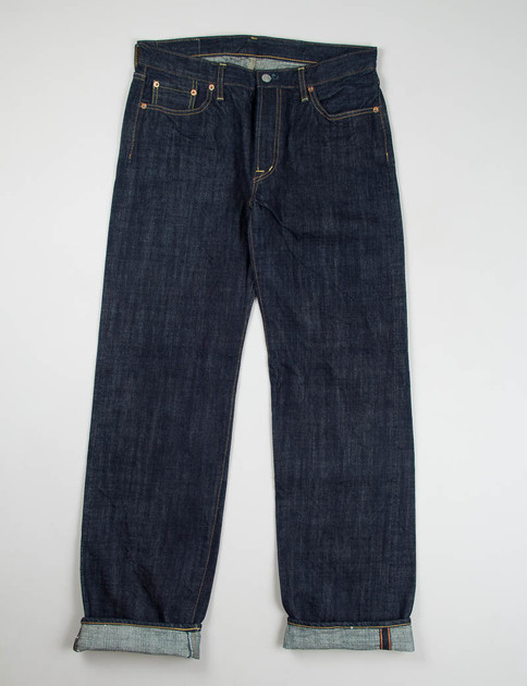 Indigo One Rinse Vintage Class Straight Jean Lot 50–010A