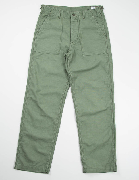 Green Regular Fit US Army Fatigue Pant