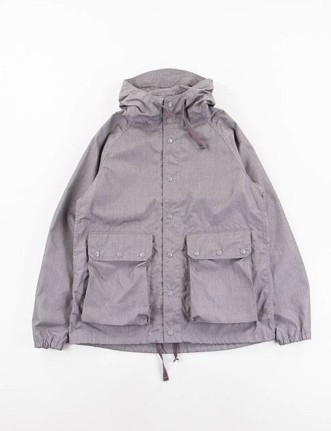 Heather Grey PC Poplin Light Parka