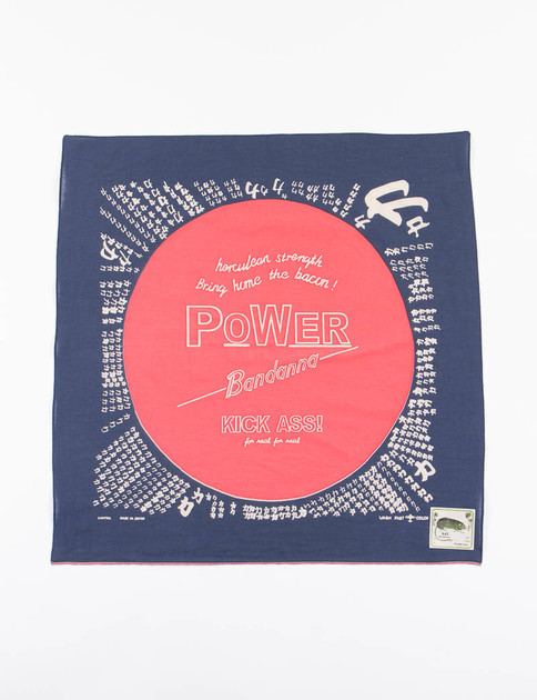 Navy Power Bandana
