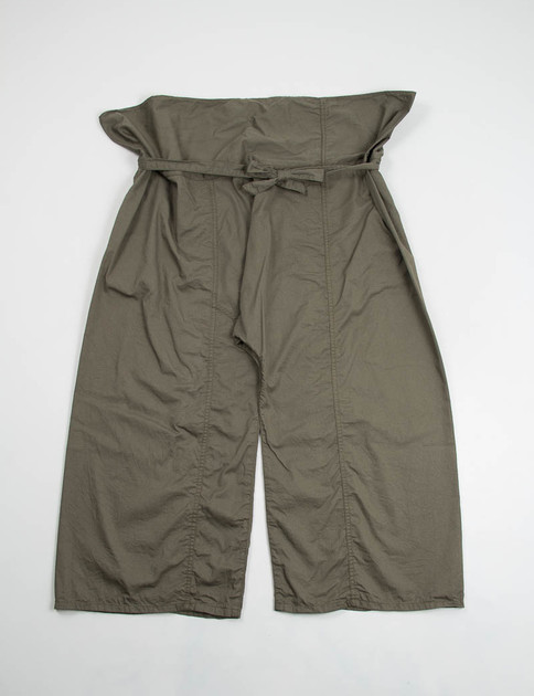 Olive French Twill Fisherman Pant
