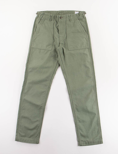 Green Slim Fit US Army Fatigue Pant
