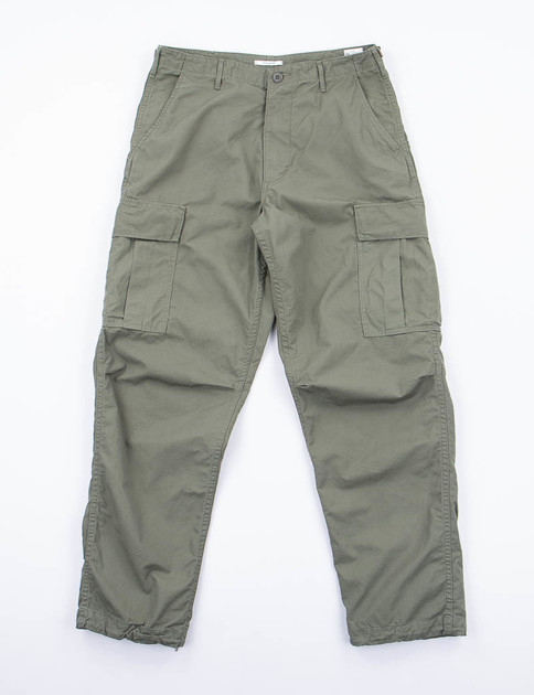 Army Green Vintage Fit Cargo Pant