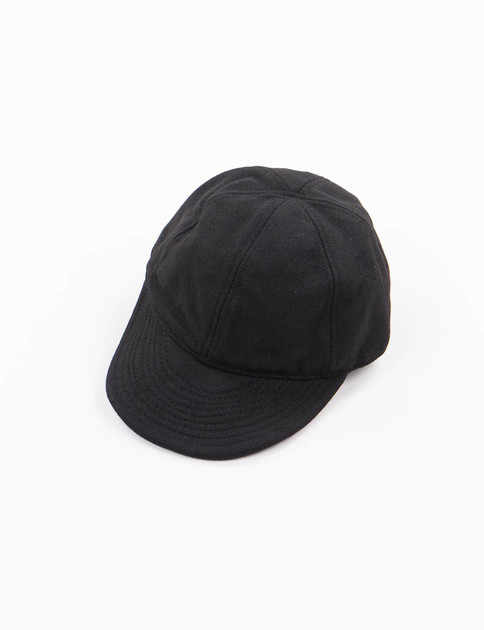 Lybro Black Navy Wool USMC Cap